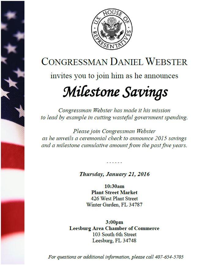 Congressman Unveiling